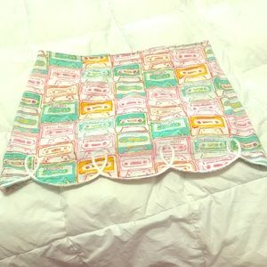 Lilly Pulitzer summer mix tape skirt